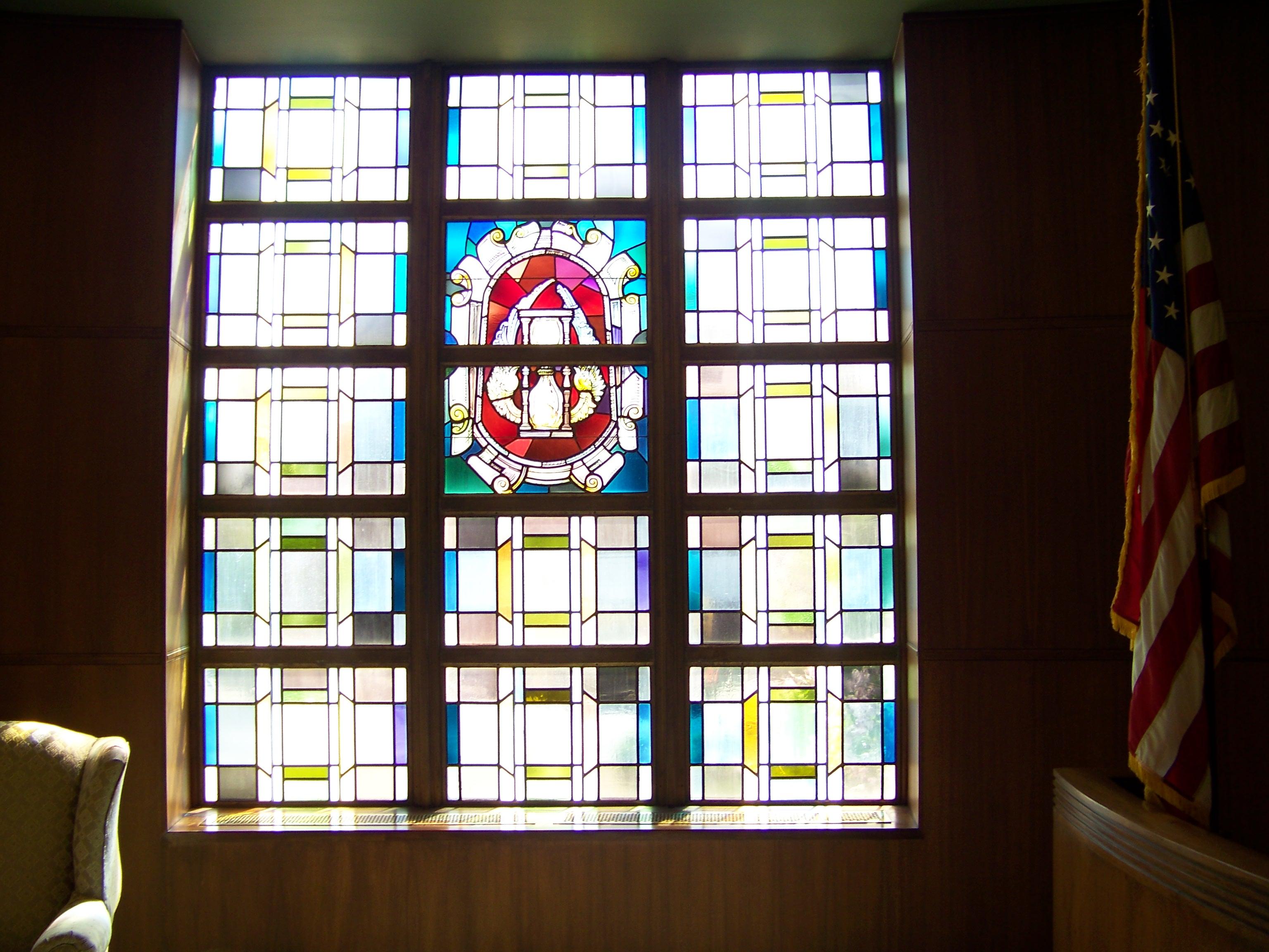 War Memorial room south east window