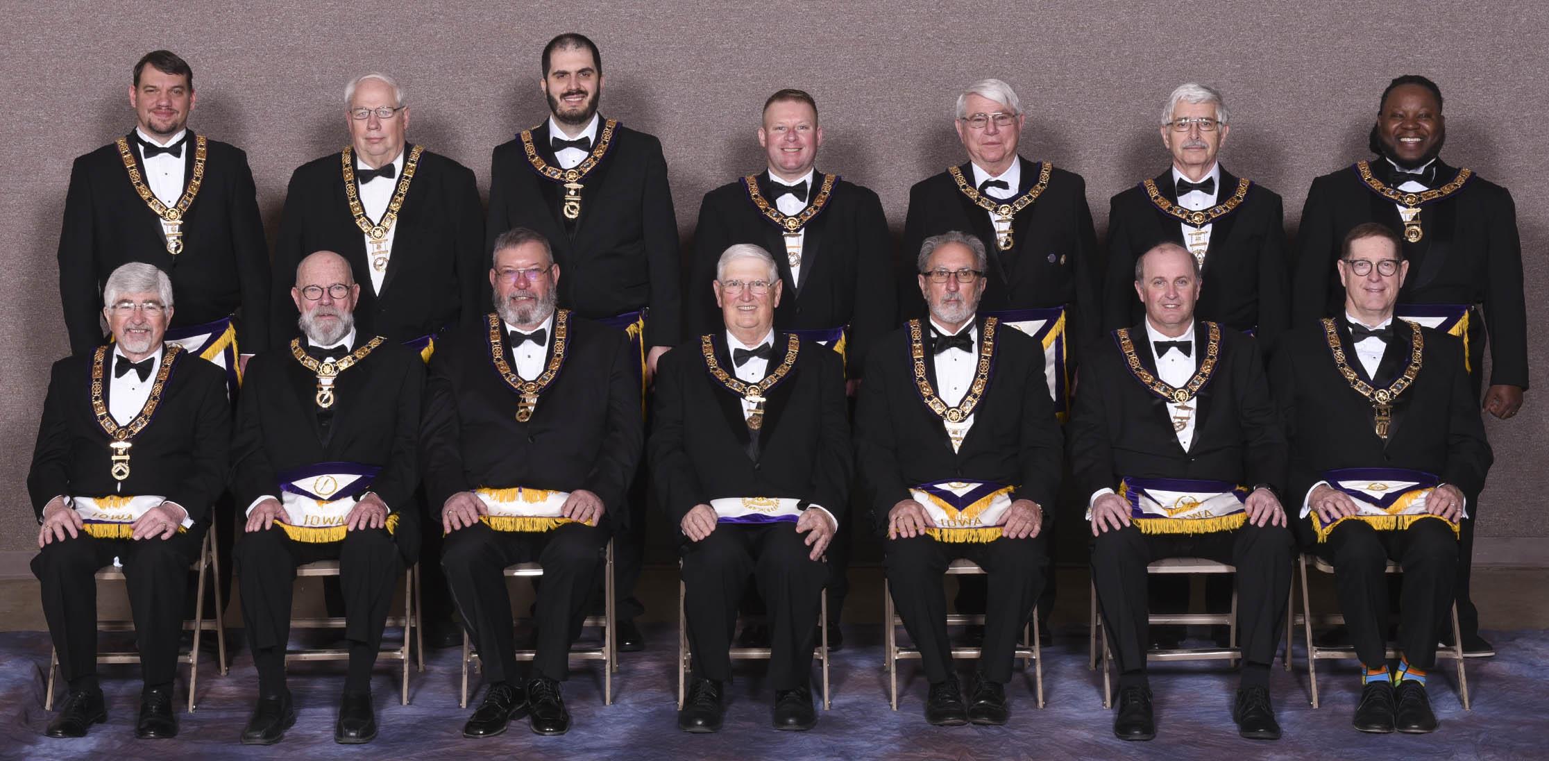 2020-2021 Grand Ldoge Officers